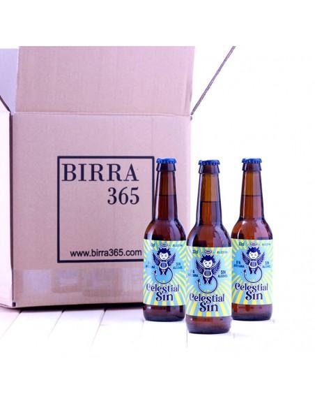 Comprar Cerveza artesana sin alcohol IPA - B&B Celestial sin - Birra365