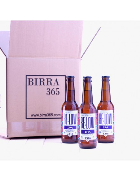 Cerveza artesana sin alcohol IPA - Zeta Be-low - Birra365
