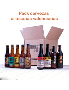 Regalar cerveza artesanal valenciana pack - Birra365