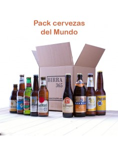Regalar pack de cervezas del mundo - Birra365