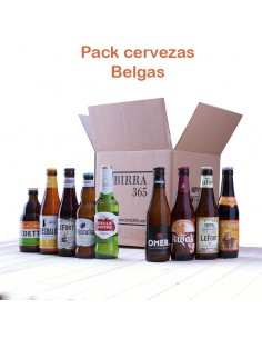 Regalar pack de cervezas belgas - Birra365