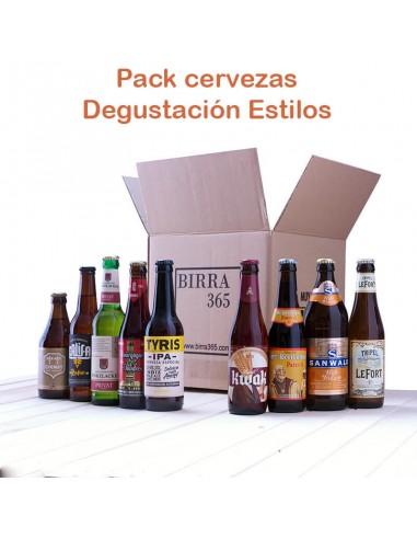 Regalar pack degustación cerveza - Birra365