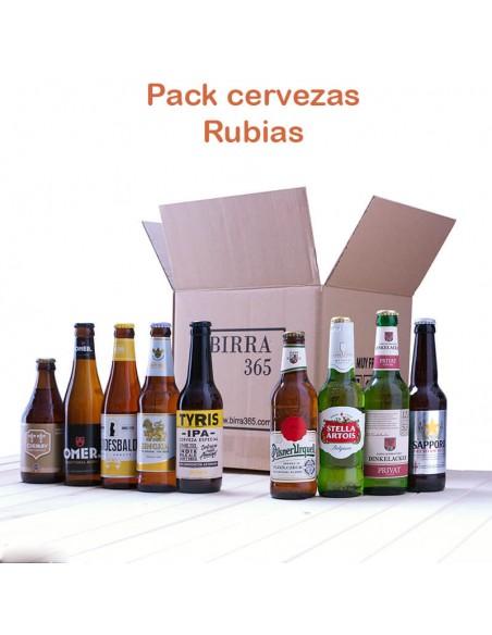Regalar pack de cervezas rubias - Birra365