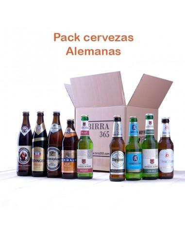 Regalar pack de cervezas alemanas - Birra365