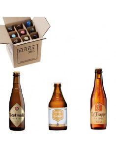 Caja degustación cervezas trapenses tripel | Birra365