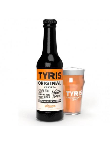 cerveza artesana rubia Tyris Original - Birra 365