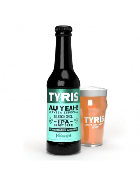 cerveza artesana Ipa valenciana Tyris Au yeah  - Birra 365