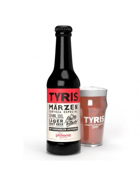 cerveza artesana para comprar online Tyris Marzen - Birra 365