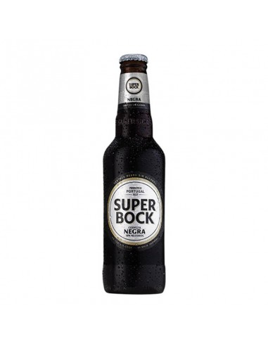 Cerveza negra sin alcohol Super Bock | Birra365