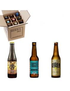 Comprar cerveza artesana trigo con Pack 9 cervezas - Birra 365