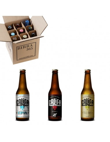 Pack oferta 9 cervezas artesanas Califa - Birra365