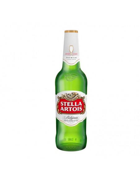 cerveza rubia belga Stella Artois - Birra 365