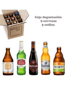 Pack de cervezas 9 belgas para disfrutar en compañía 5 estilos - Birra 365