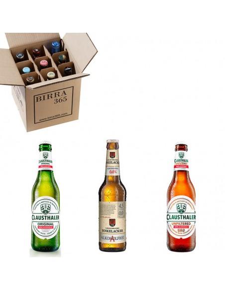 Pack de cervezas sin alcohol con las mejores cervezas sin alcohol del mundo - Birra 365