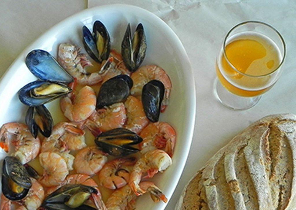 Cervezas y marisco, un placer   Birra365