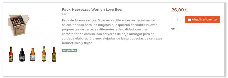 Pack de cervezas para regalar el día de la madre - Birra365