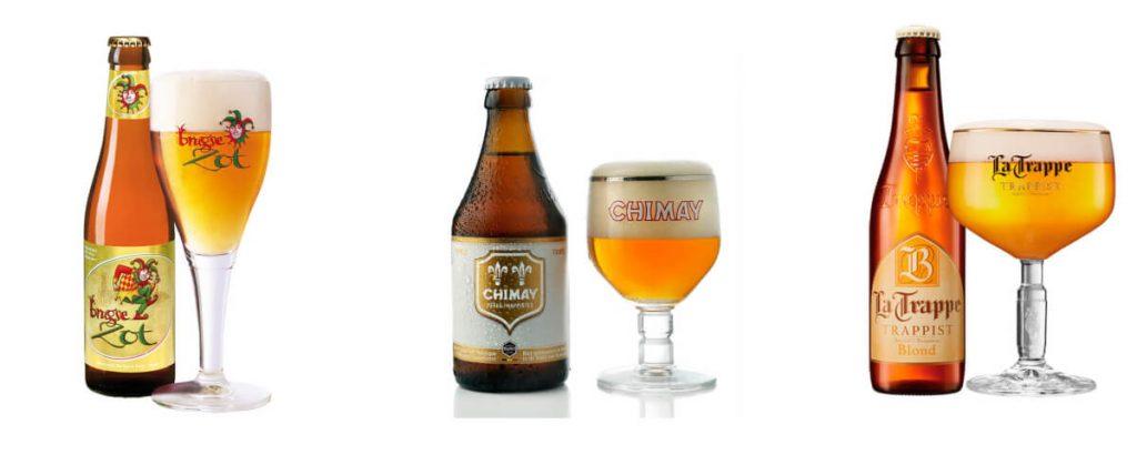 las mejores cervezas de abadía rubias en Birra365