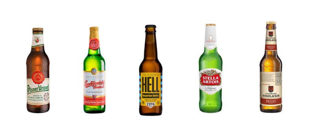 Cervezas lager y pilsner en Birra365