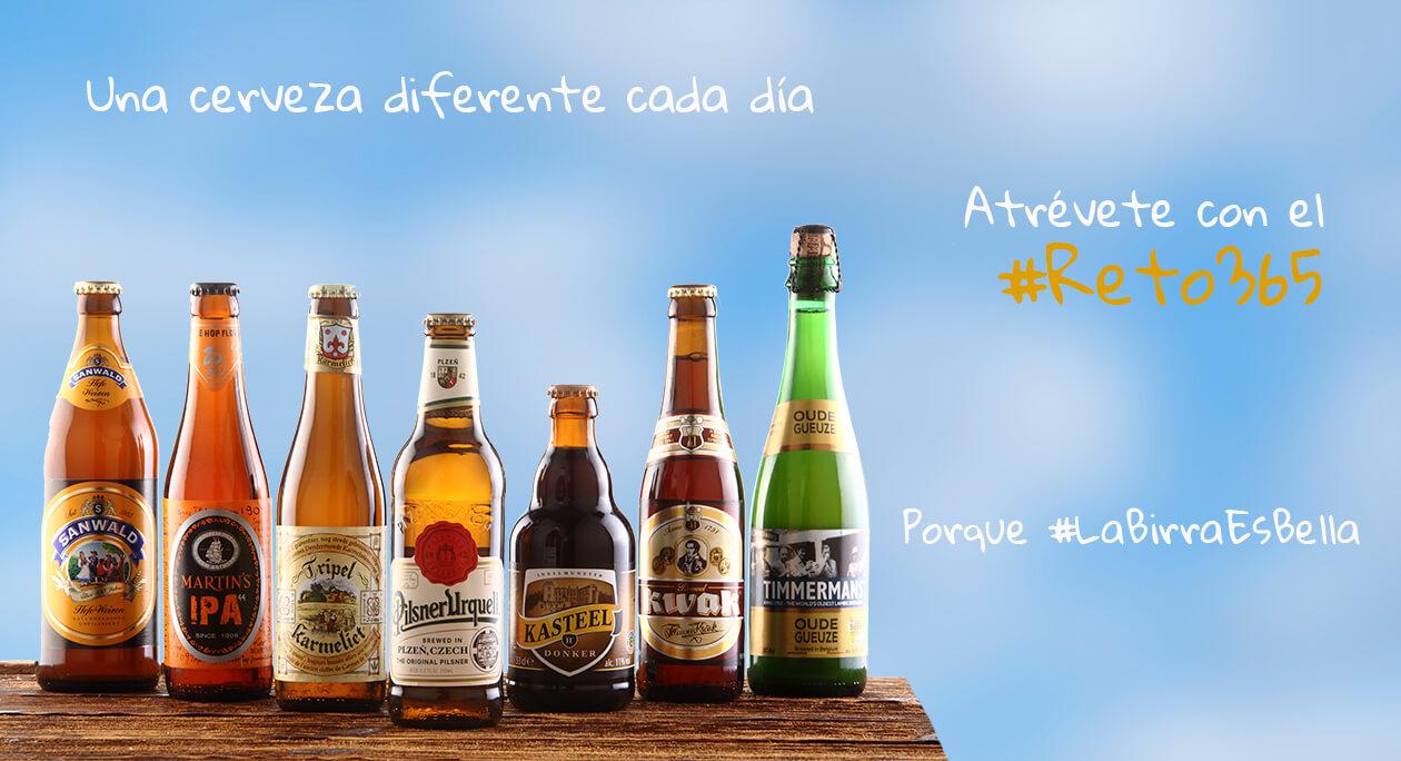 Una cerveza diferentes para cada día de año
